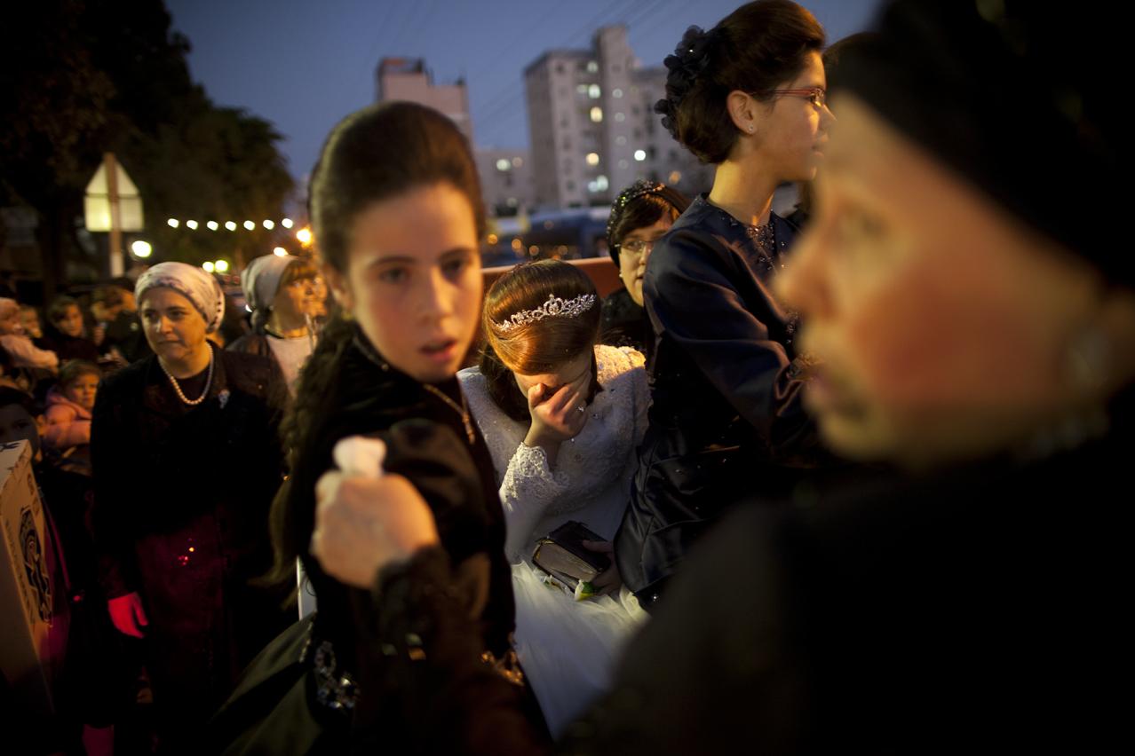 Mideast Israel Jewish Wedding