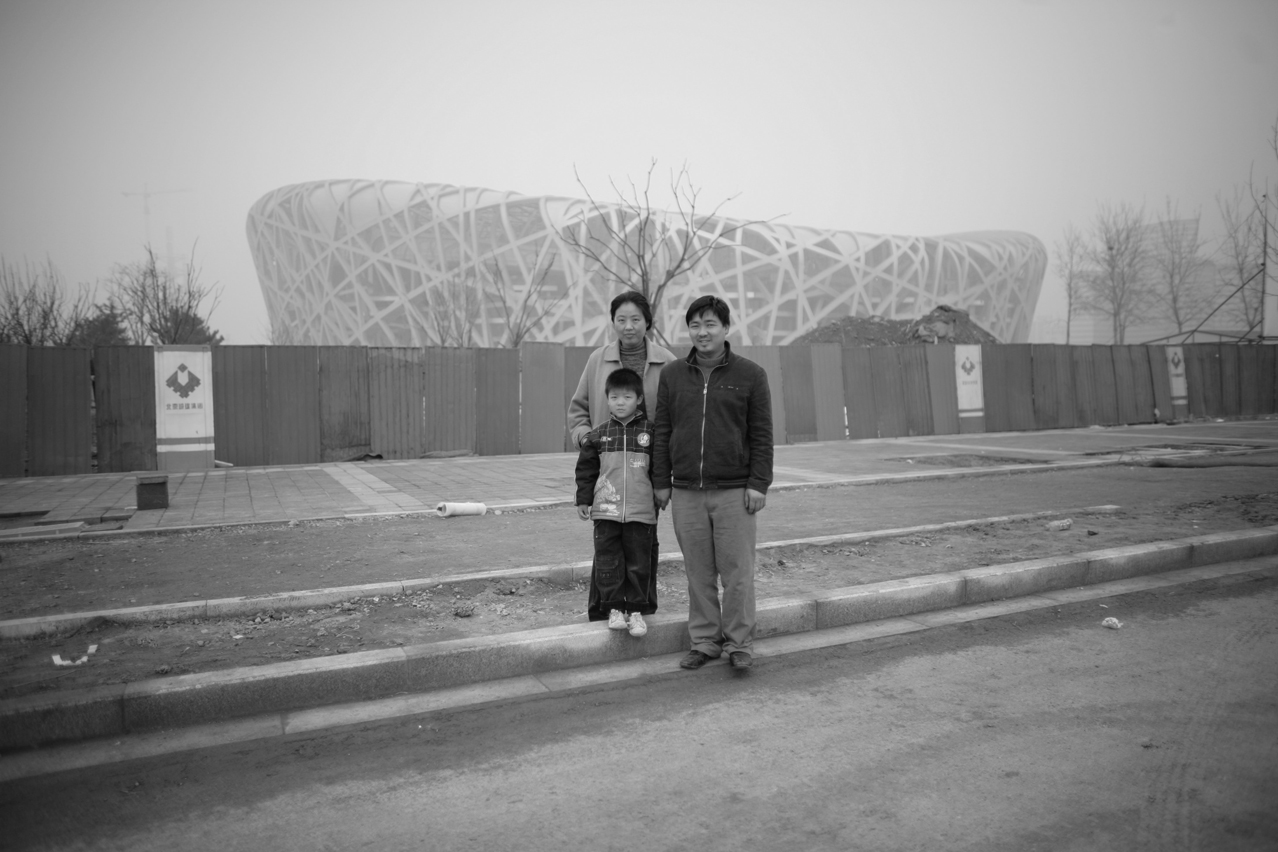 China Olympics Birds Nest