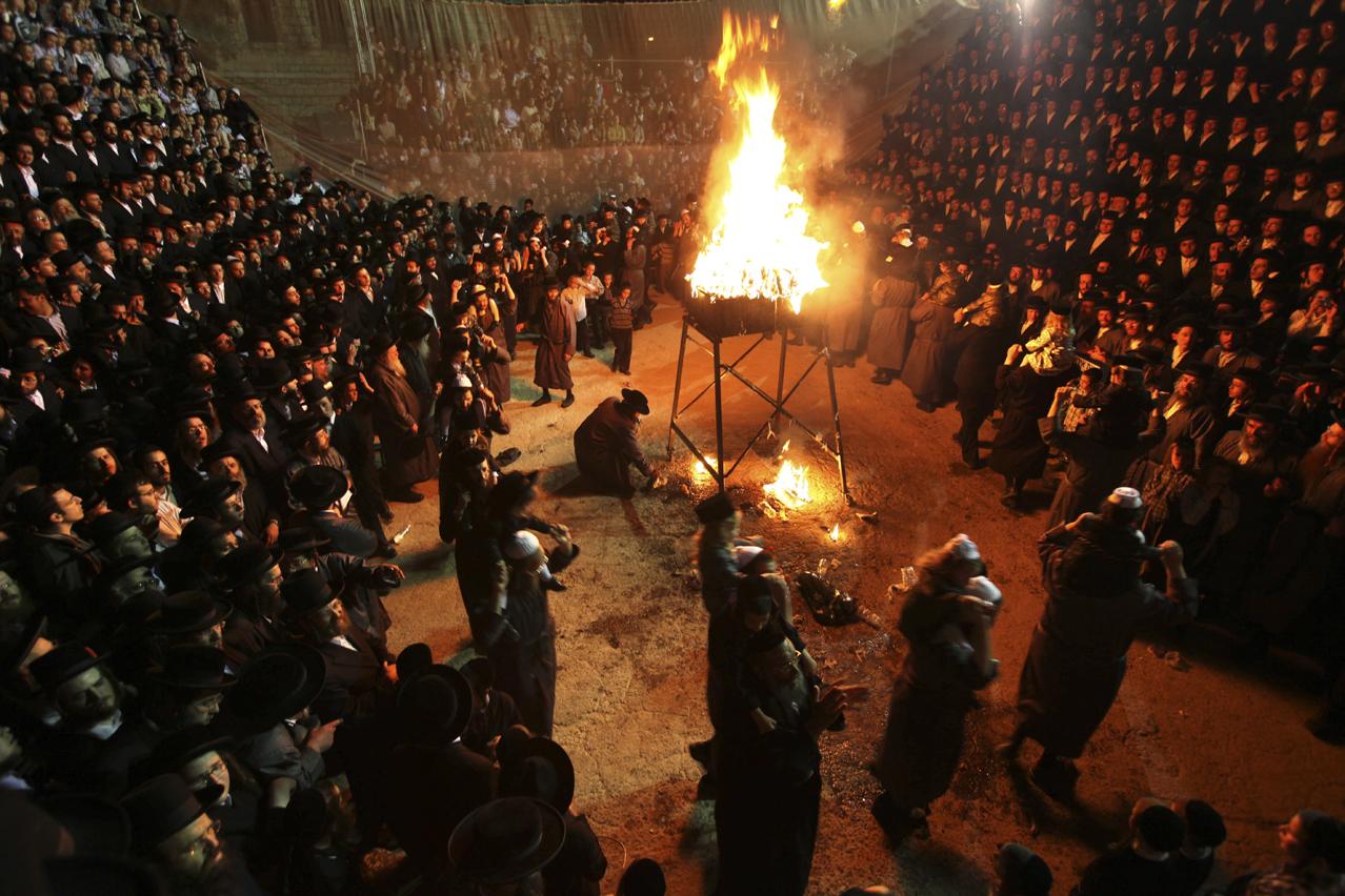 APTOPIX MIDEAST ISRAEL PALESTINIANS JEWISH HOLIDAY