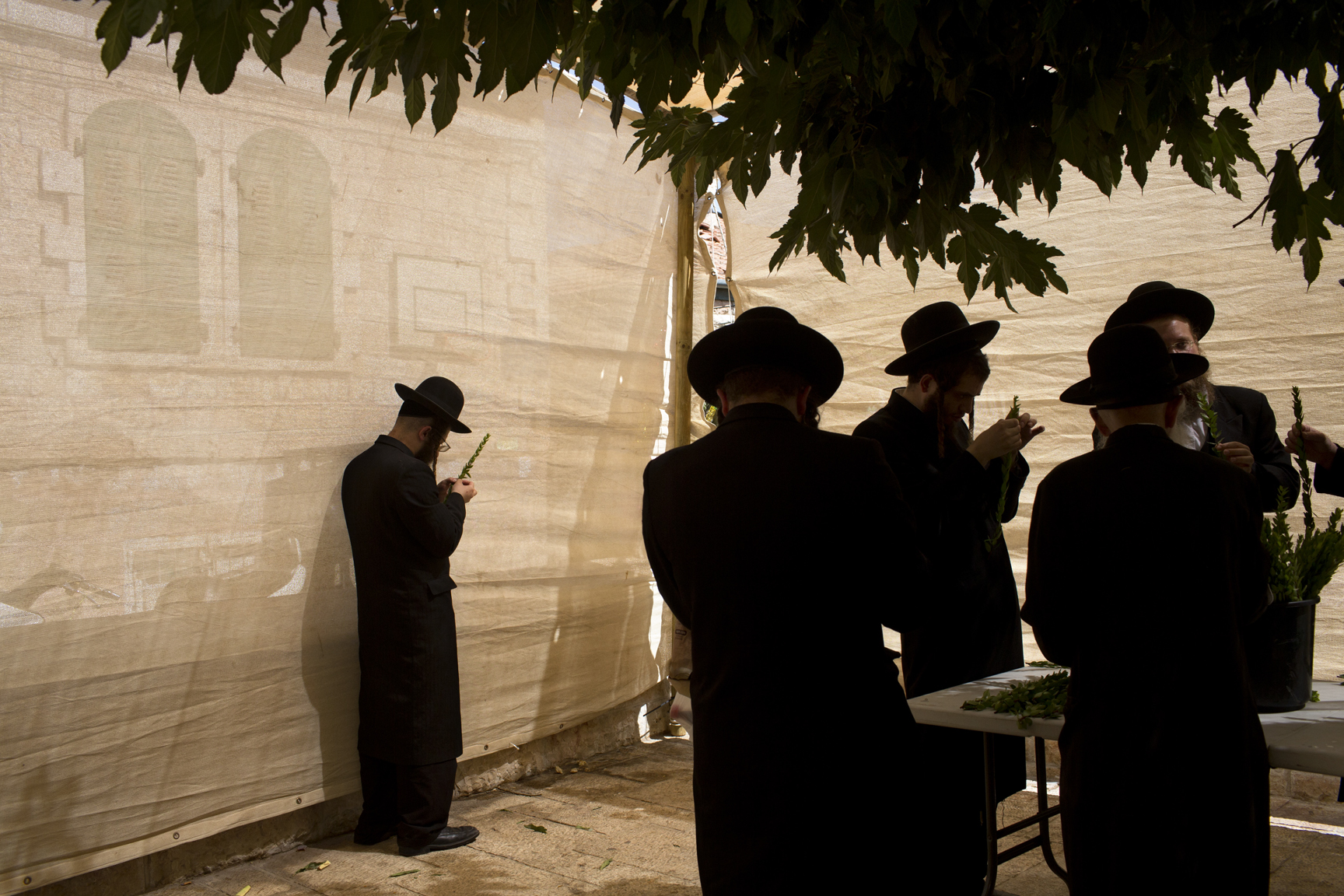 Mideast Israel Sukkot